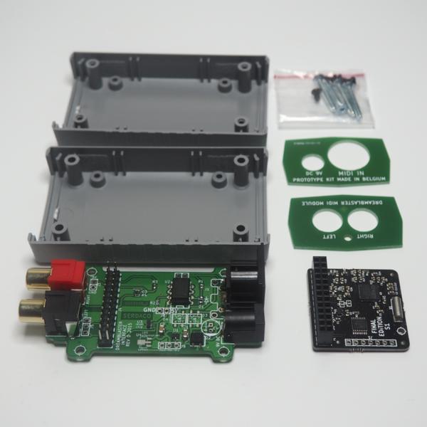 DreamFace - Modulo MIDI Interface Dreamblaster con Dreamblaster Synth S1